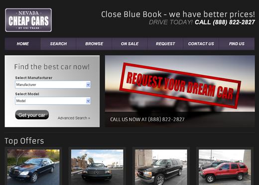 Nevada-Cheap-Cars-Website